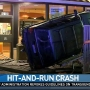 Driver crashes into McDonald's, flees the scene