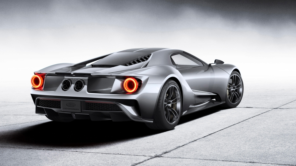 The All New Ford Gt Ultra High Performance Supercar Redefines Innovation In Ecoboost Performance Aerodynamics And Lightweight Carbon Fiber Construction