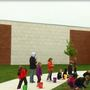 Principal at Buffalo Hills Elementary School spends the day on the roof