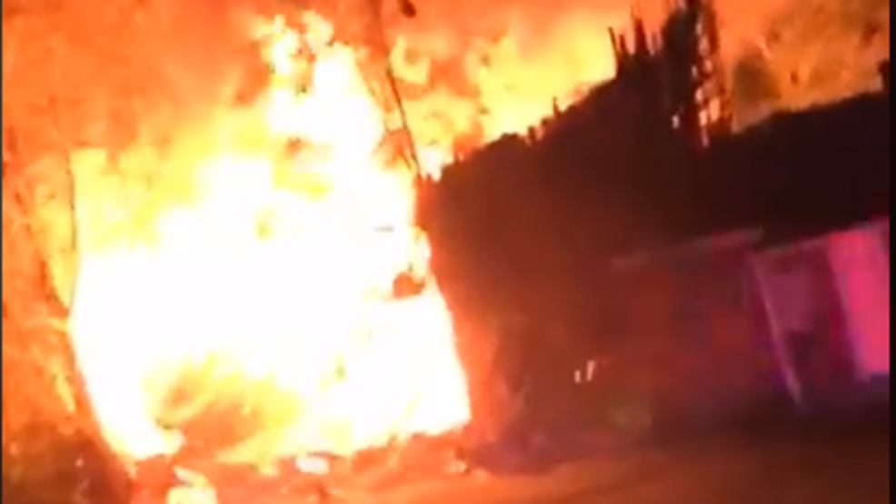 south carolina fire caused by house explosion under investigation wpde