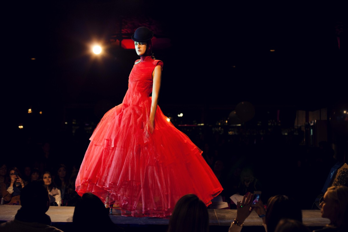 Local Designers shared their work at Runway to Freedom. (Image: Amir Zahed)