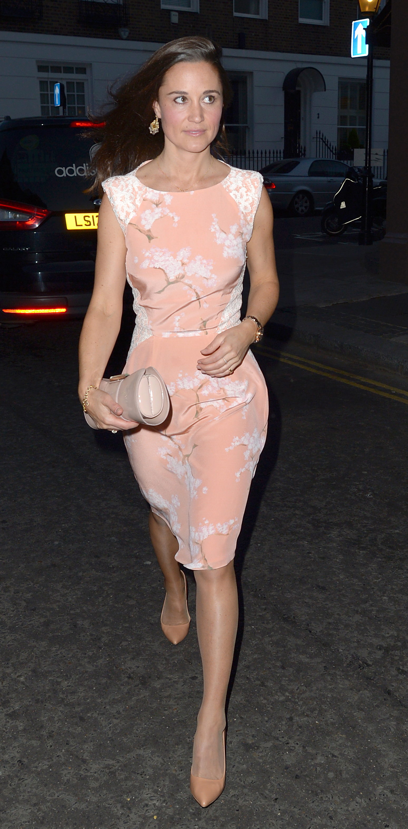 Pippa Middelton arrives at the Waitrose Summer Party held at the Natural History Museum ( WENN.com)