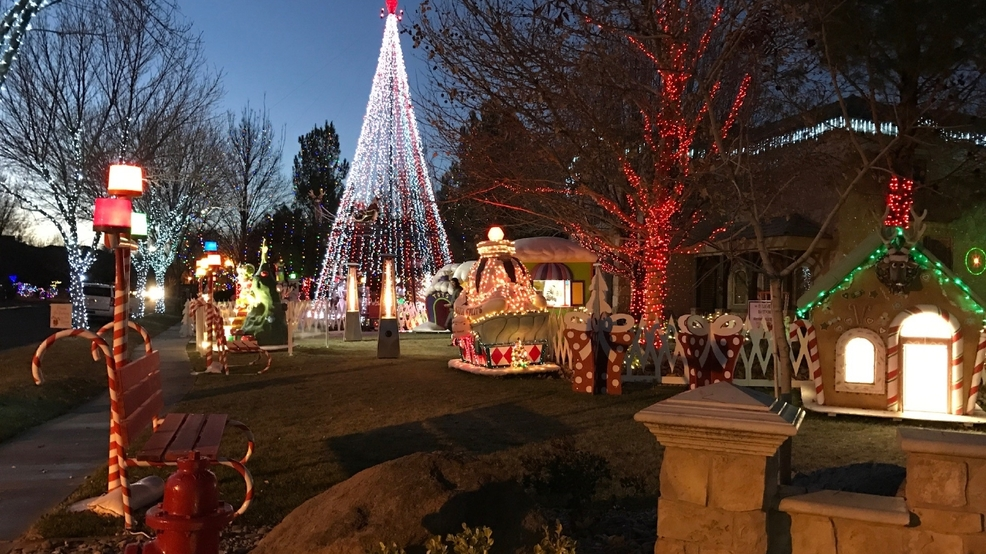 interactive map best places in utah to see christmas light displays this year for free kutv - Christmas Lights In Utah