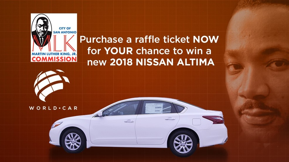 Buy a $50 MLK Car Raffle ticket and help provide local students with scholarships!