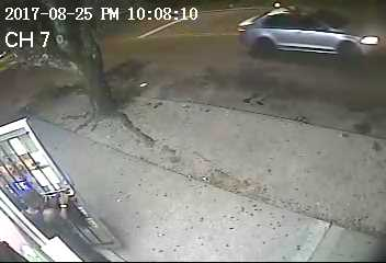 Gainesville Police are trying to identify this car they say was also involved in a drive-by shooting Friday.