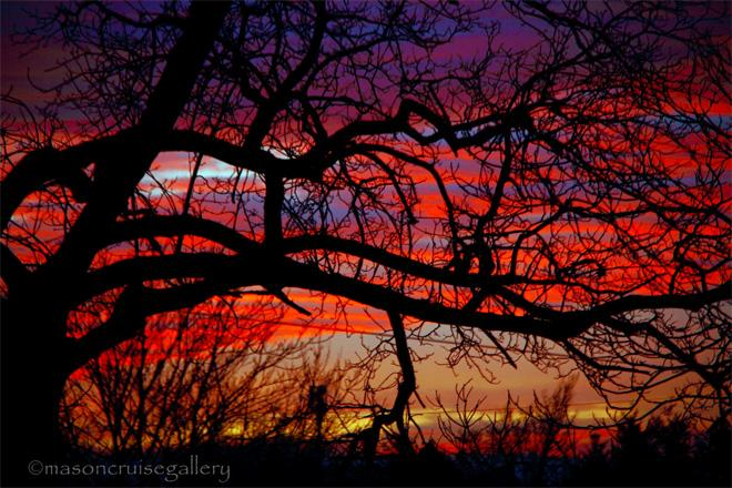 Portland sunset - (Photo: YouNews contributor: Uncommontreasure)