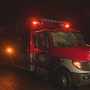 King Co. medic unit hit by falling tree while responding to crash