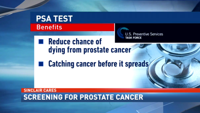 Early detection screenings for prostate cancer