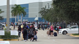 VIDEO: Massive lines at shelters in Florida as Hurricane Irma approaches