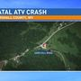 Man dies after ATV crash in Marshall County