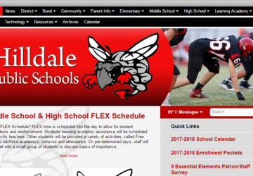Hilldale Public Schools | Calendar and supply lists