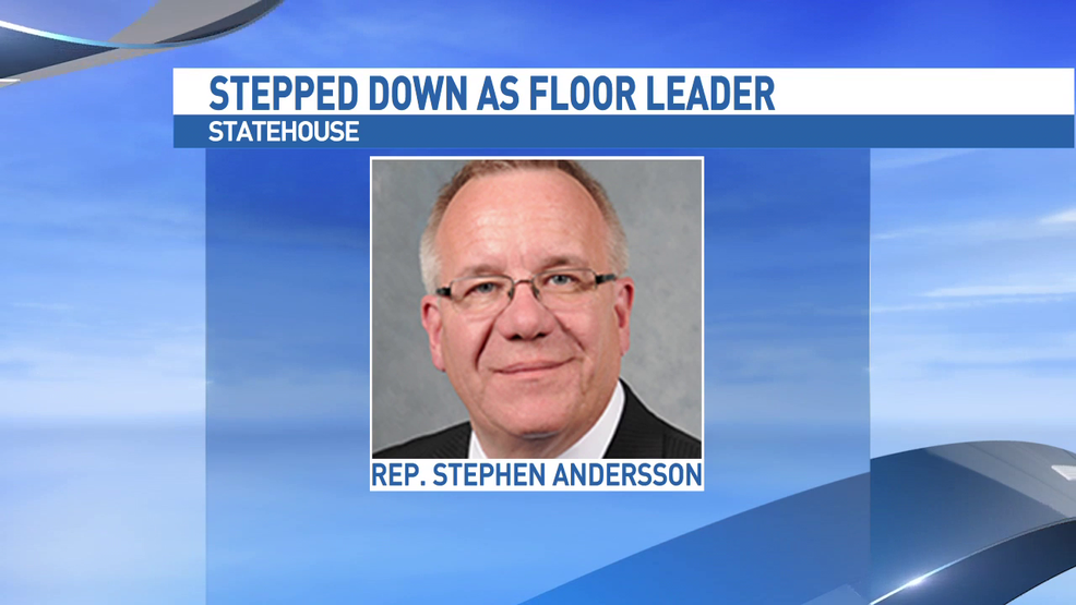 Representative andersson asked to step down as floor for Who are the floor leaders