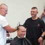 Members of Boone County Sheriff's shave heads to support sergeant with cancer