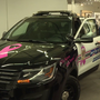 SCPD unveil new patrol car dedicated to the fight against cancer