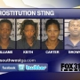 Names released in prostitution sting
