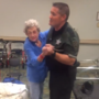 Watch: Deputy sings, dances with elderly woman frightened by Hurricane Irma