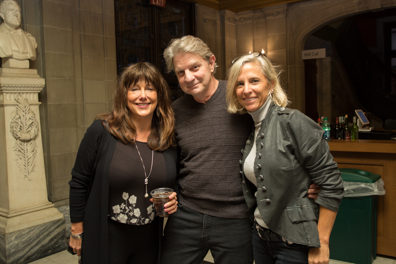 Jondie Lane, Bob Burke, and Paige VonHoffmann /{ }Image: Catherine Viox // Published: 9.28.18