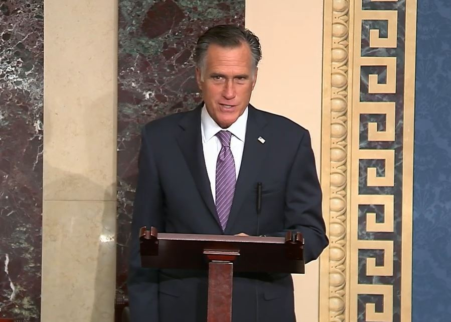 Romney: Judge Barrett's commitment to Rule of Law is critical to court's legitimacy (Photo: YouTube / screengrab)