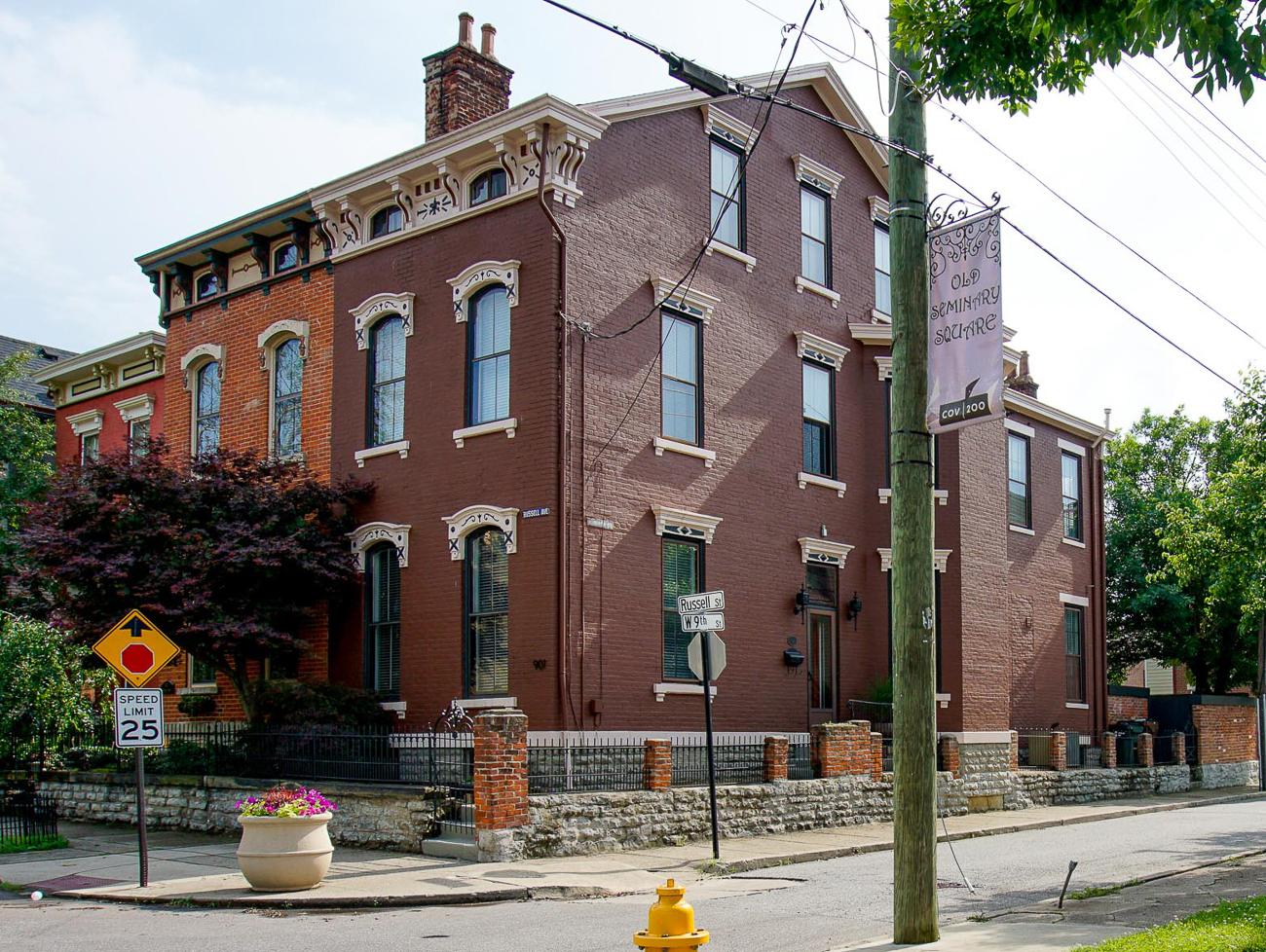 <p>Built circa 1883, 901 Russell Street is a 4-bed, 2.5-bath house that sits within the historic district of Old Seminary Square. While it might have 19th-century bones, it's been updated to accommodate 21st-century tastes. Its kitchen features Viking appliances, the outdoor space has been renovated, and it's freshly (and professionally) painted among other updates. The house is equally close to both Mainstrasse and the Madison Avenue entertainment district, and it's up for sale with a price tag of $374,900. / Image: Austin Dunbar // Published: 6.27.19<br></p>