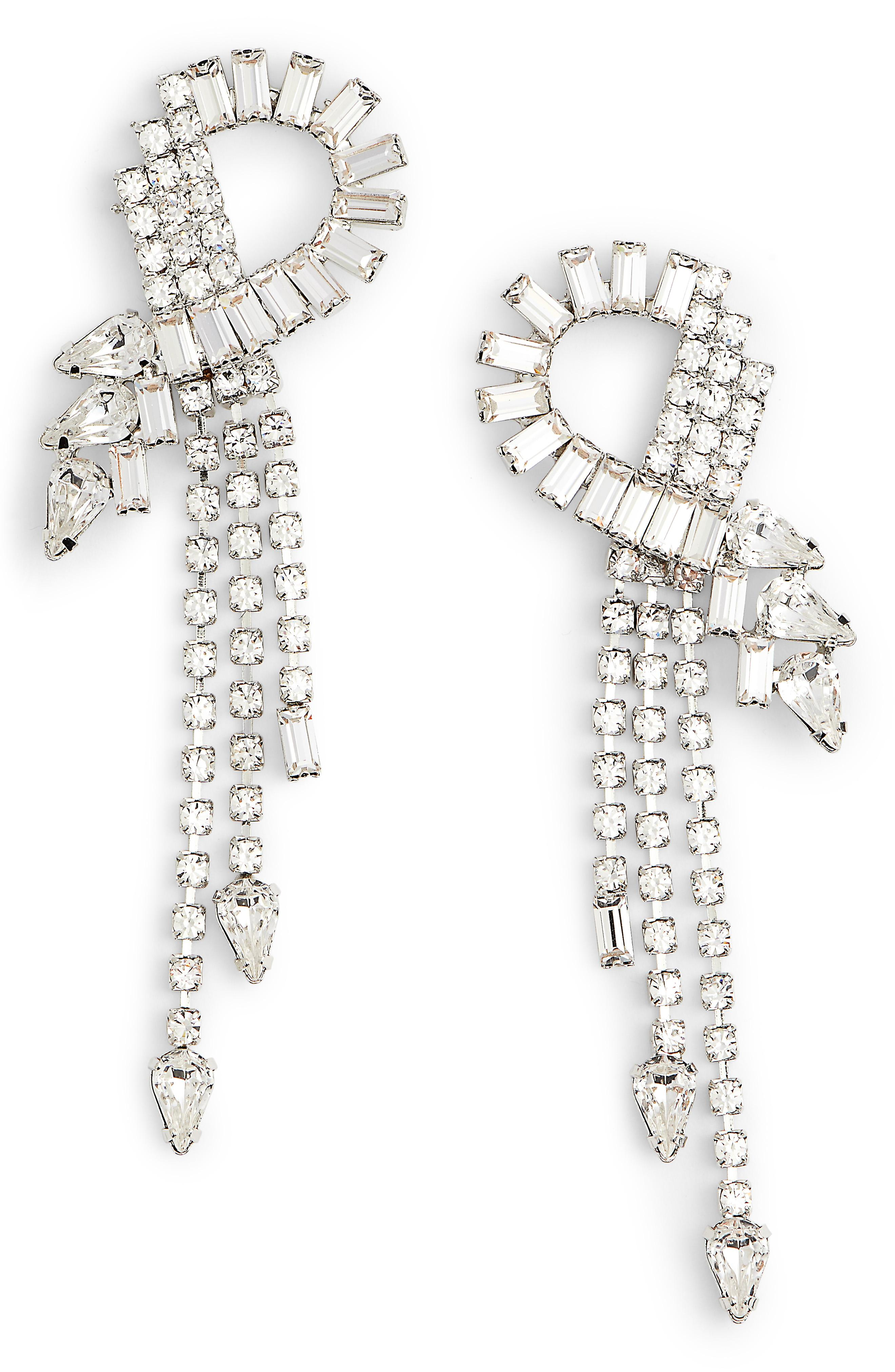 Cristabelle Multi Stone Fringe Earrings -- Sale: $25.90 / After Sale: $40{ }(Image: Courtesy Nordstrom)