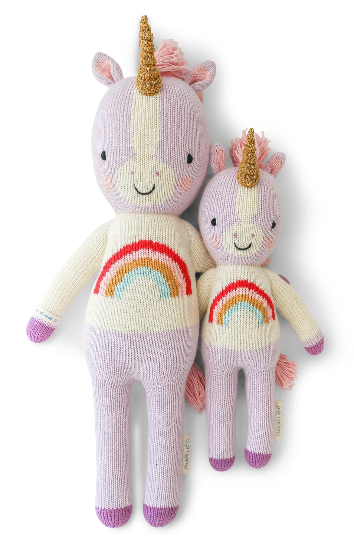 Dreams or play, everything will be more magical for your darling whenever this cuddly unicorn hand knit from Peruvian cotton is around. Starting Price $55.{ }Shop it{ }(Image: Nordstrom){ }