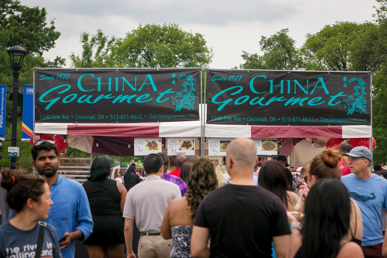 The 8th annual Asian Food Fest returned to Washington Park (May 12-13, 2018) with live entertainment, fun family activities, and, of course, plenty of Asian cuisine. / Image: Mike Bresnen Photography // Published: 5.13.18